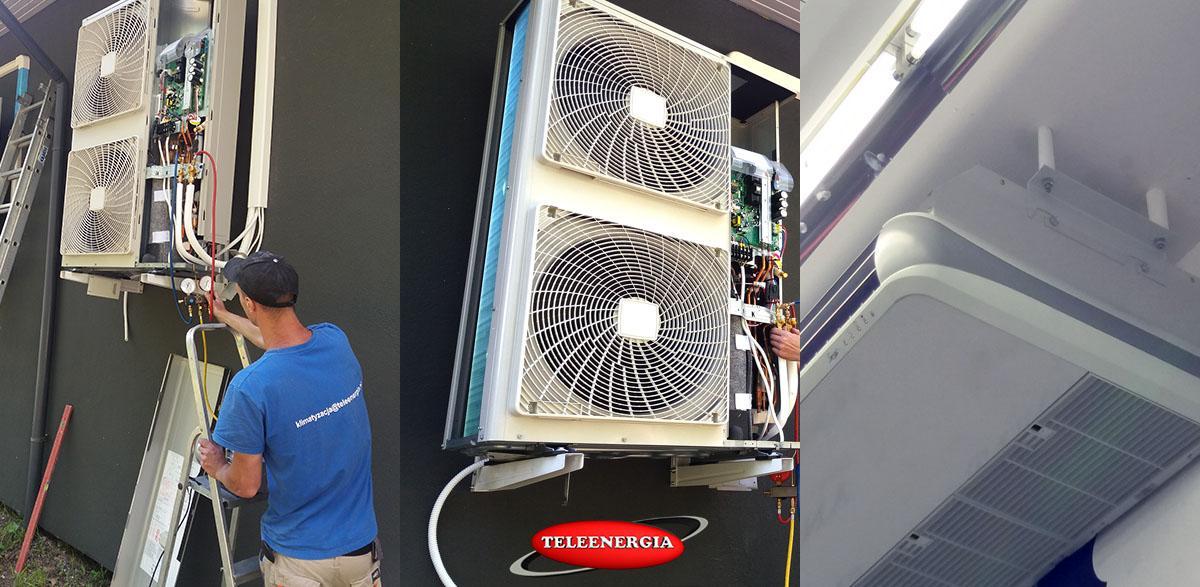 montujemy klimatyzację - Libiąż